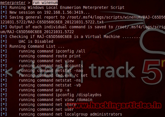 winenum Best Metasploit Meterpreter Script